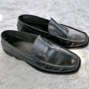 Tods patent leather slip on loafers EUR. 7 1/2 driving